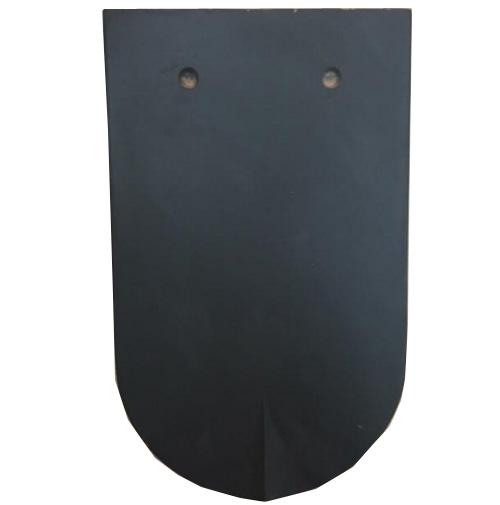 Công ty CP gạch ngói Đồng Nai Ngói mũi hài 65 tráng men 1 mặt màu đen